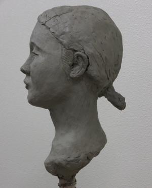塑像の実習(3)